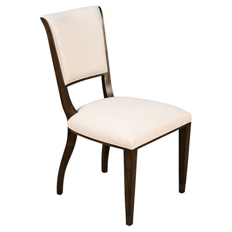 glenda french country ivory upholstered brown dining room