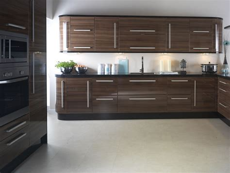 high gloss kitchen cabinet doors apollo walnut gloss replacement kitchen design ipc403