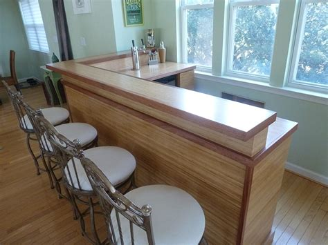 how to create a custom bamboo countertop in a bathroom bamboo countertops southside woodshop