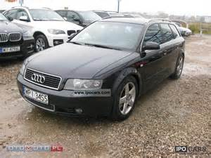 2004 audi a4 bezwypadkowy s line i wl car photo and specs
