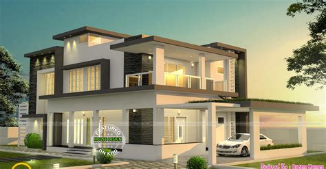 home designer pro flat roof modern flat roof two storey home design architecture and art worldwide