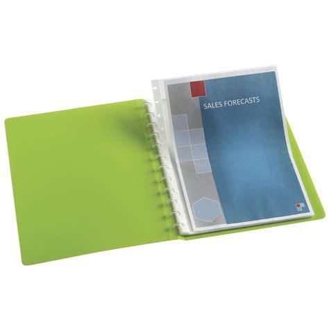 Display Book Garden 20 Sheet colourhide a4 heavy weight display book refill 10 pack officeworks