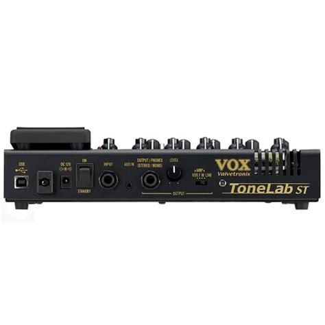 Harga Efek Gitar Vox Tonelab jual vox tonelab st guitar multi effects processor murah
