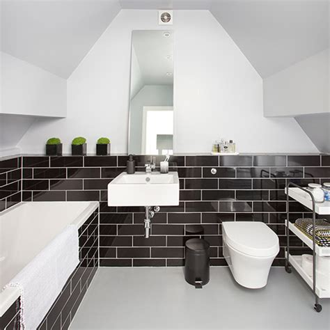 monochrome bathroom ideas makeover monochrome bathroom ideal home