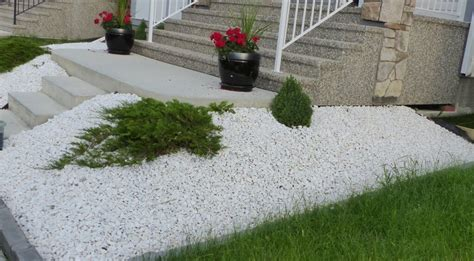 wonderful white rocks for landscaping manitoba design