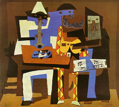 picasso paintings three musicians three musicians by pablo picasso facts history of the