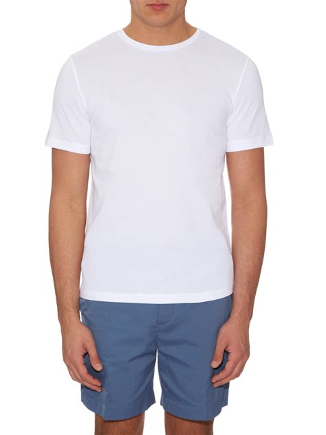 acne studios eddy box cut t shirt in white for lyst