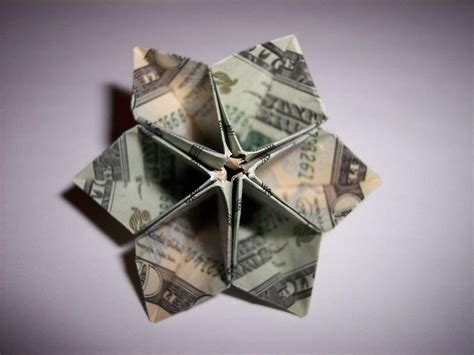 Dollar Origami - money origami flower edition 10 different ways to fold a