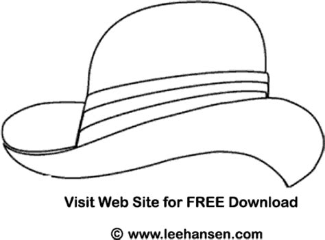 coloring pages of sun hats sunhat coloring pages