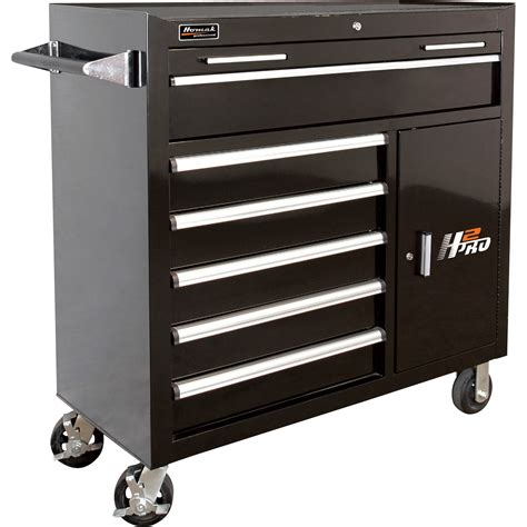 2 drawer tool cabinet homak h2pro 41in 6 drawer roller tool cabinet with 2