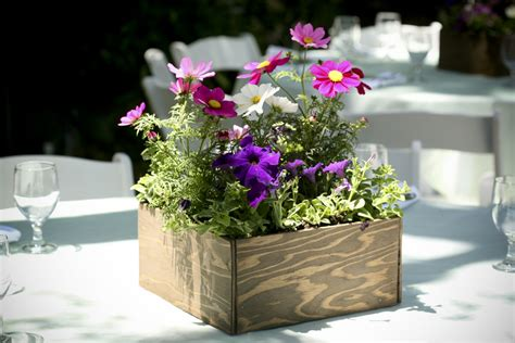 wood boxes for centerpieces wooden boxes eco beautiful weddings the e magazine for eco friendly and green weddings