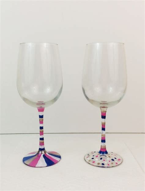 Diy Glasses easy wine glass decorating diy