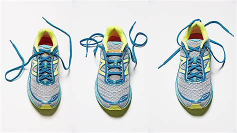 how to tie running shoes 3 ways to lace up your running shoes competitor