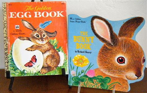 easter bunny book set of 2 vintage easter books the bunny book a by