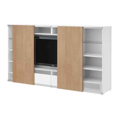 besta inreda best 197 inreda tv storage combo with sliding doors white