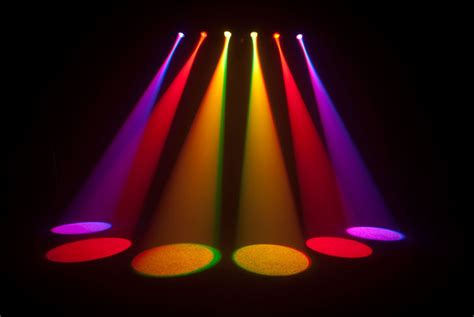 led spot light bar chauvet 6spot rgb led spot light bar system with bag pssl