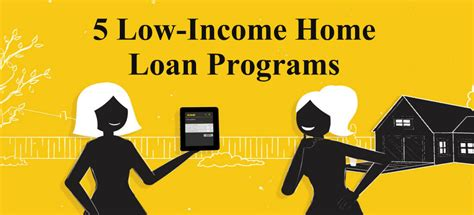 housing loans for low income best low income home loans in 2018