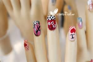 design on finger nails nail art design victorianail net