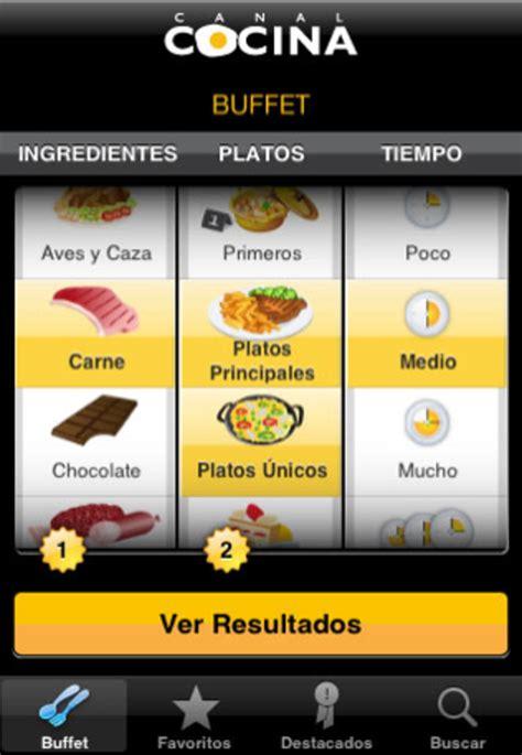 www canal cocina canal cocina para iphone descargar