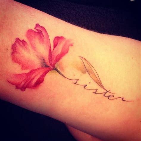 tattoo flower words 50 pretty flower tattoo ideas for creative juice