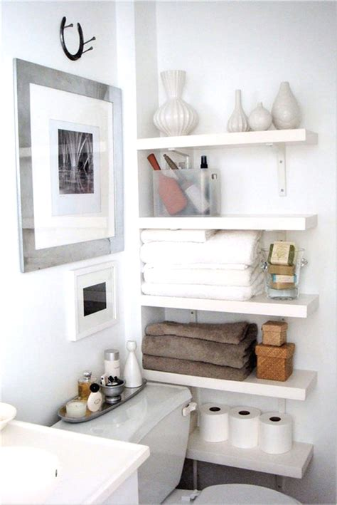 Tiny Bathroom Storage Ideas | custom diy wood wall mounted corner tissue furniture and