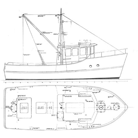 fishing boat plans free bb380 quot sea cliff 10 21 metre trawler or fishing boat quot