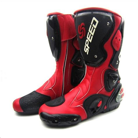 racing boots new style free shipping motorcycle boots bikers racing