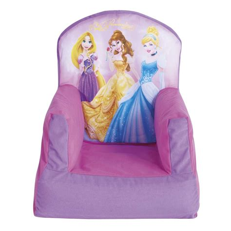 disney princess recliner disney princess cosy chair kids bedroom furniture new
