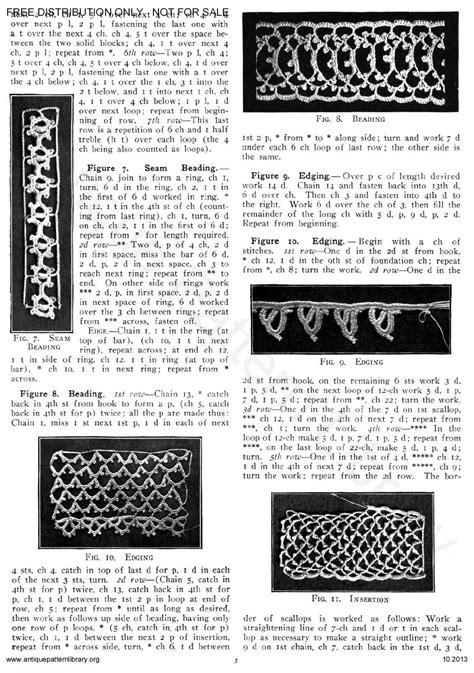 antique pattern library priscilla apl 6 ja025 priscilla irish crochet book no 2 page 7