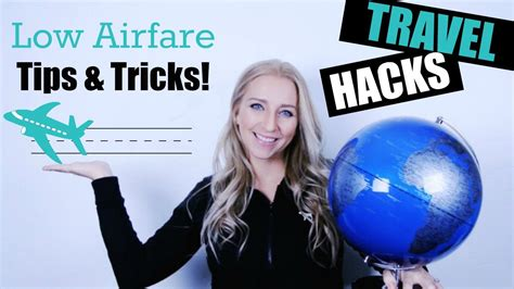 travel hacks low airfare tricks