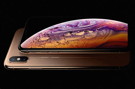 apple unveils the xs max its iphone yet barron s