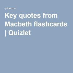 Themes In Hamlet Quizlet | key quotes from macbeth flashcards quizlet school