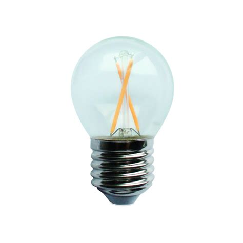 Long Lifespan Ceramic G45 Filament Led Bulb 2w 4w E14 E27 Led Light Bulbs Lifespan