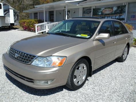 2004 Toyota Avalon Mpg Used 2004 Toyota Avalon For Sale