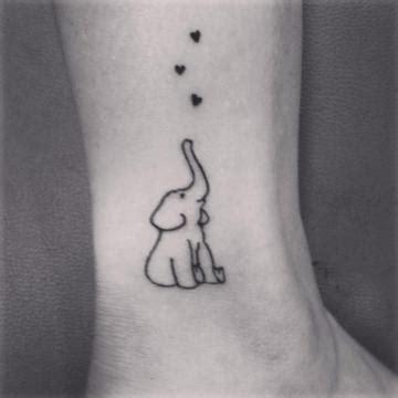 elephant tattoo with hearts 85 beautiful elephant tattoos and their meanings fmag com