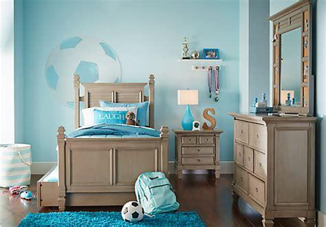 boulder chocolate 4 pc full poster bedroom boys bedroom kids beds for sale shop affordable children