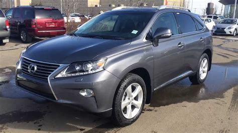 Lexus Rx 350 Awd Review by 2014 Lexus Rx 350 Awd Premium Package Review In Grey