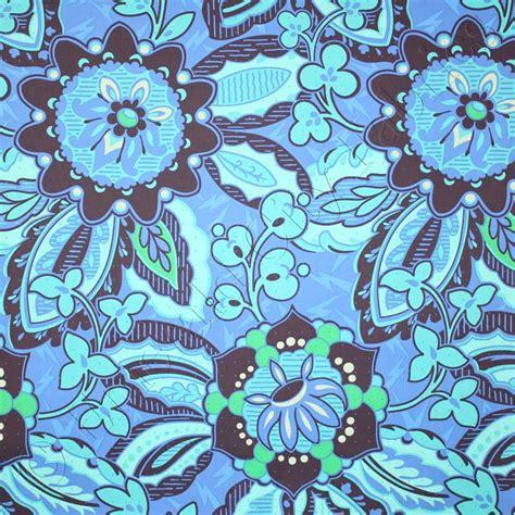 Rowan Amy Butler Soul Blossoms Trailing Orchid Blue Velvet