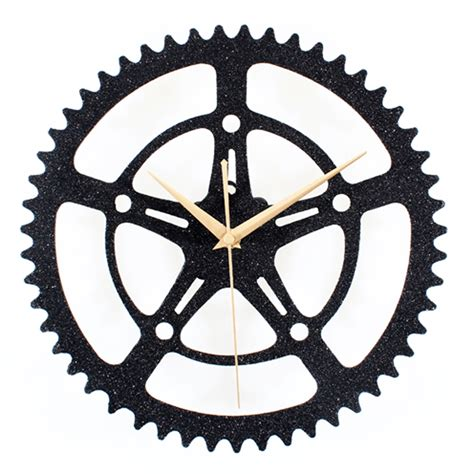 printable clock gears formidable hands free gear hands free gear clock hammacher