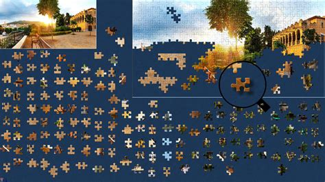 free printable jigsaw puzzle maker software screenshot of a jigsaw puzzle in progress made with