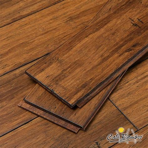 Fossilized Bamboo Flooring by Click Lock Antique Java Fossilized 174 Strand Solid Bamboo