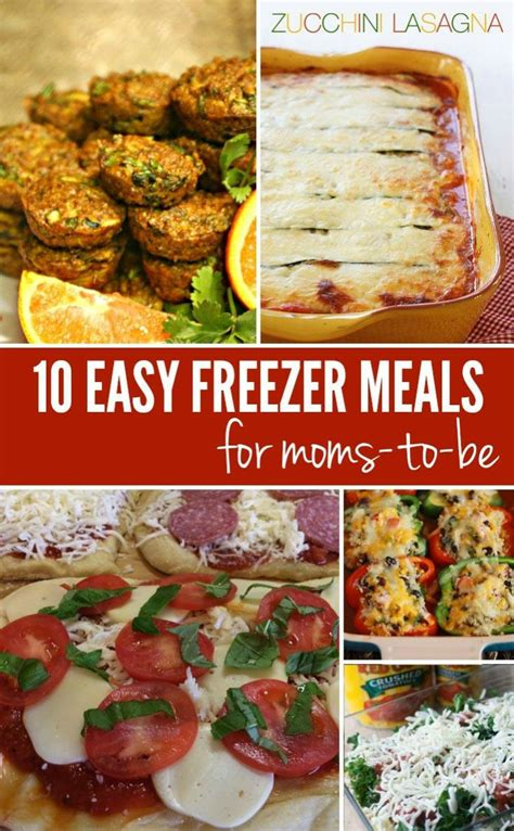 10 Tasty Meals For by 10 Easy Freezer Meals For To Be The Savvy Bump