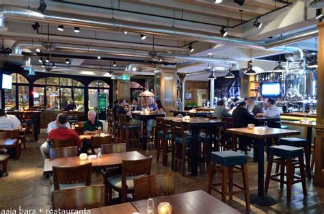 Kitchen Flooring Design Shanghai Brewery 2 Microbrewery Restaurant Sports