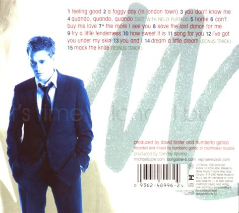 Cd Michael Buble It S Time michael buble it s time cd opus3a