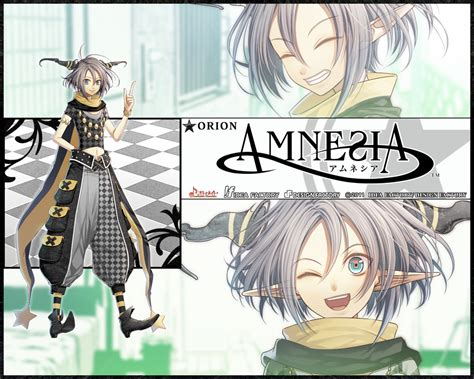 anime amnesia orion from amnesia world