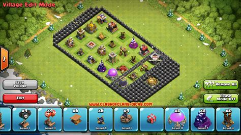 layout of coc lamento da vi 250 va dicas clash of clans layouts bizarros