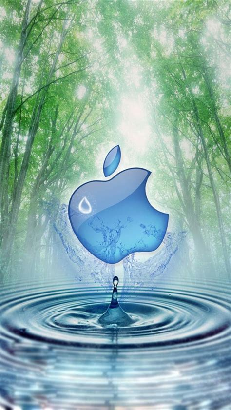 wallpaper iphone 5 water apple and water tree iphone 5 wallpapers downloads
