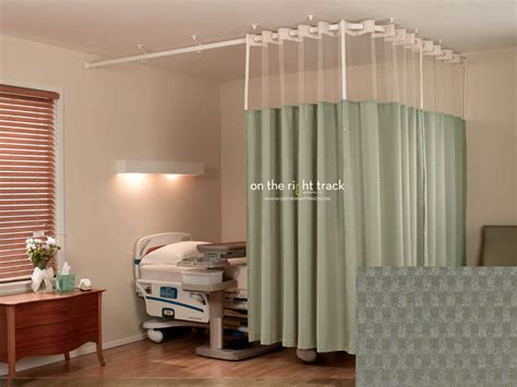 curtain cubicle on the right track textile cubicle curtains