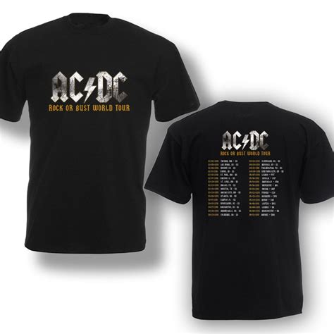 Jaket Hoodie Sweater Acdc Ac Dc 6 acdc t shirt ac dc rock or bust world tour 2016 t shirt b e s t marketplace salevenue