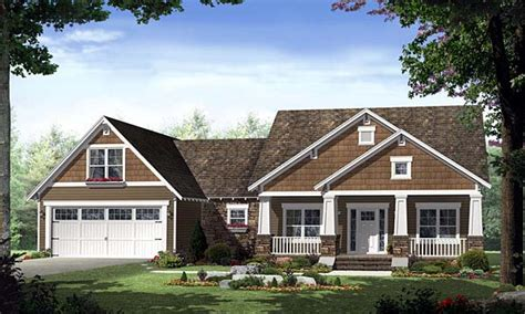 Craftsman Houses Plans by Single Story Craftsman House Plans Home Style Craftsman